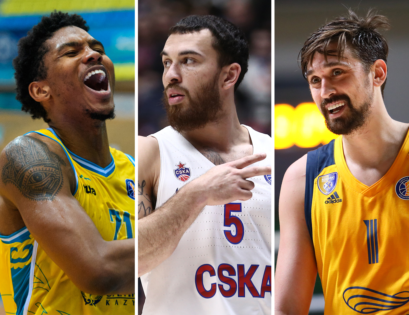 From Maksvytis and Hill to James and Shved. 10 heroes of League cut season