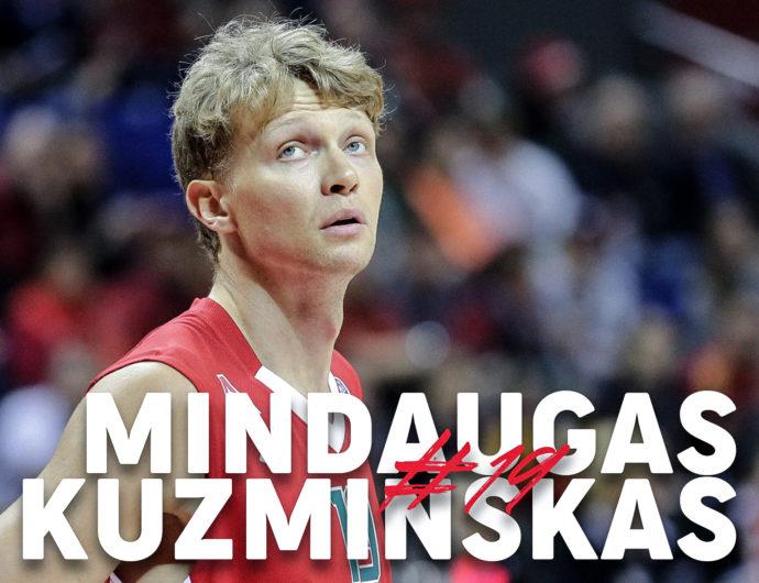 Mindaugas Kuzminskas Highlights