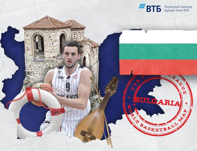 World basketball map: Bulgaria