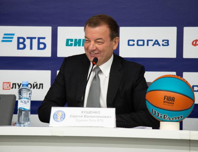 Сергей Кущенко в эфире программы «Реальный спорт» на Матч ТВ