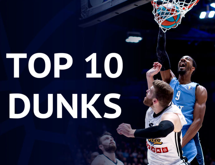 Top-10 dunks of the season