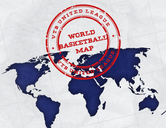 """VTB United League starts ambitious project """"World basketball map"""""""