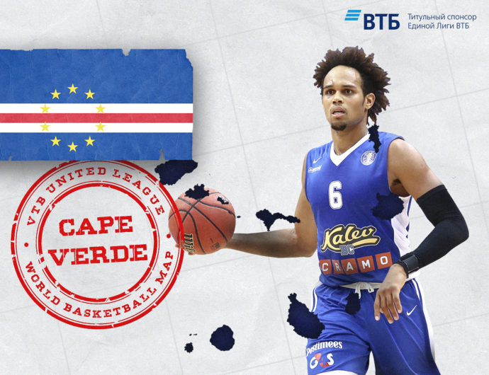 World basketball map: Cabo Verde