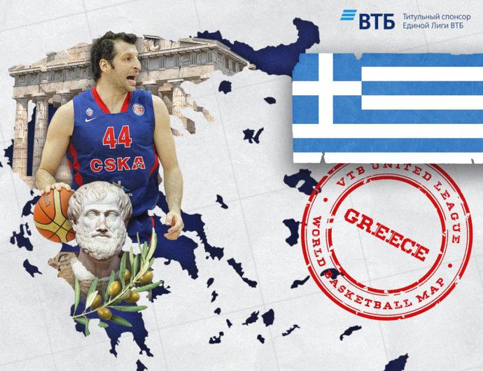 World basketball map: Greece