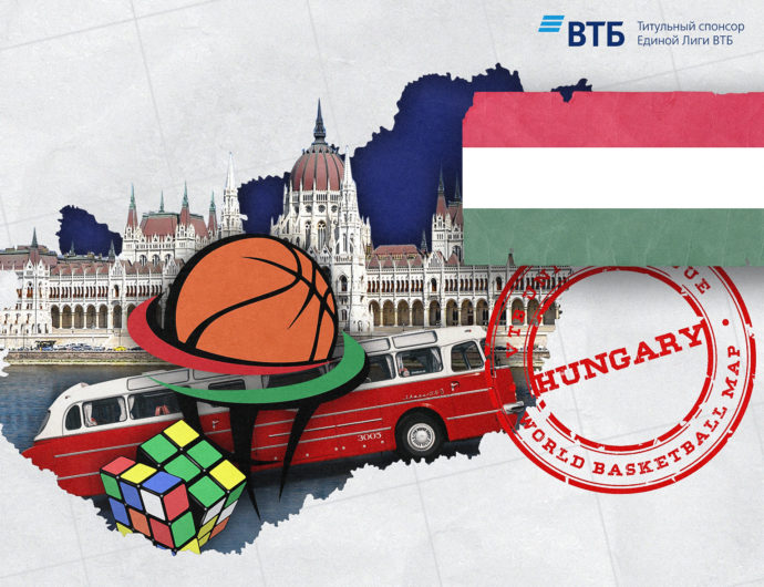 World basketball map: Hungary