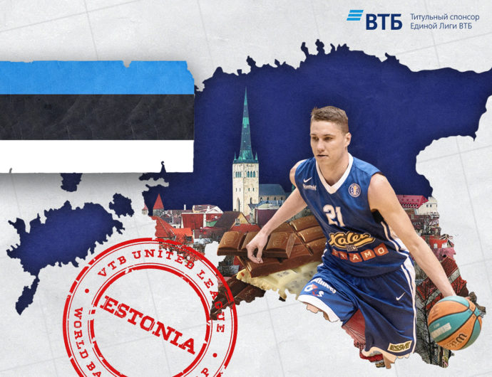 World basketball map: Estonia