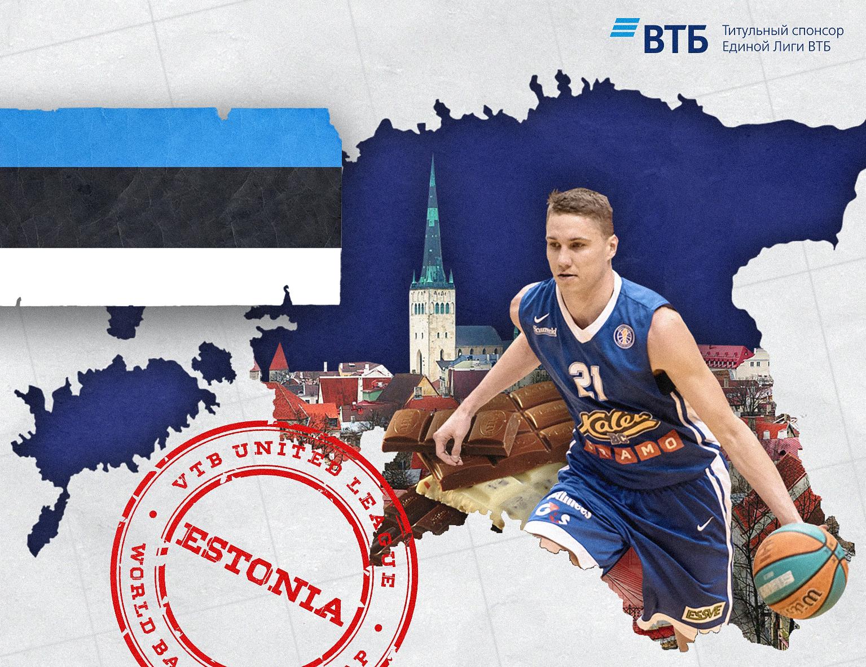 World basketball map: Estonia