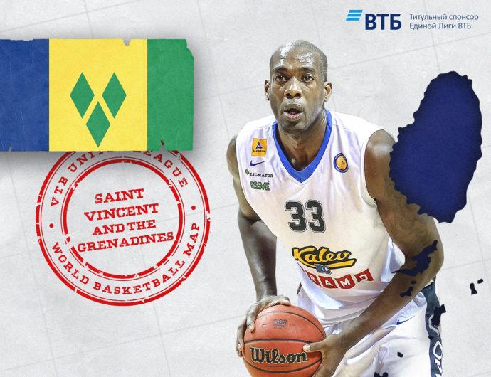 «Баскетбольная карта мира»: Сент-Винсент и Гренадины