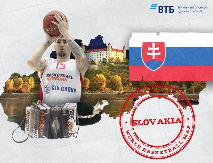 «Баскетбольная карта мира»: Словакия