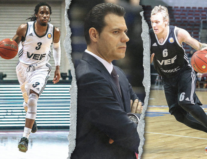 Itoudis, Timma, and 9 more people of 2014/15 season in 2020