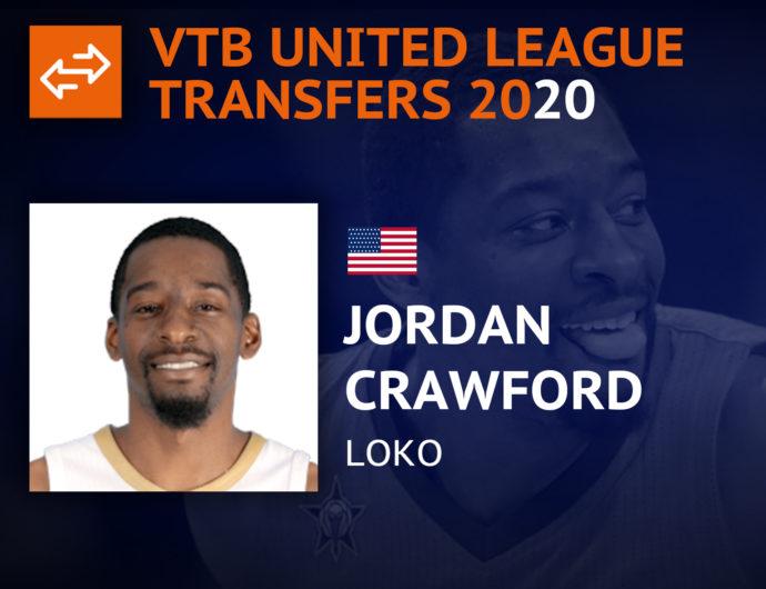 Newcomers 2020. Jordan Crawford, Lokomotiv-Kuban