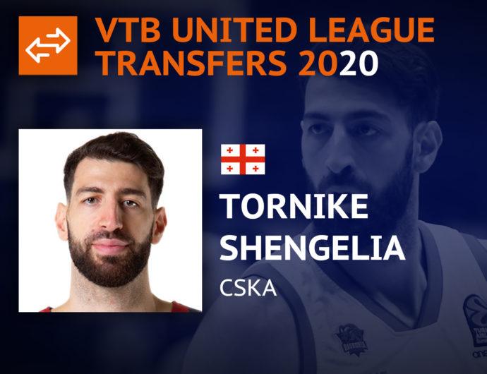 Newcomers 2020. Tornike Shengelia, CSKA