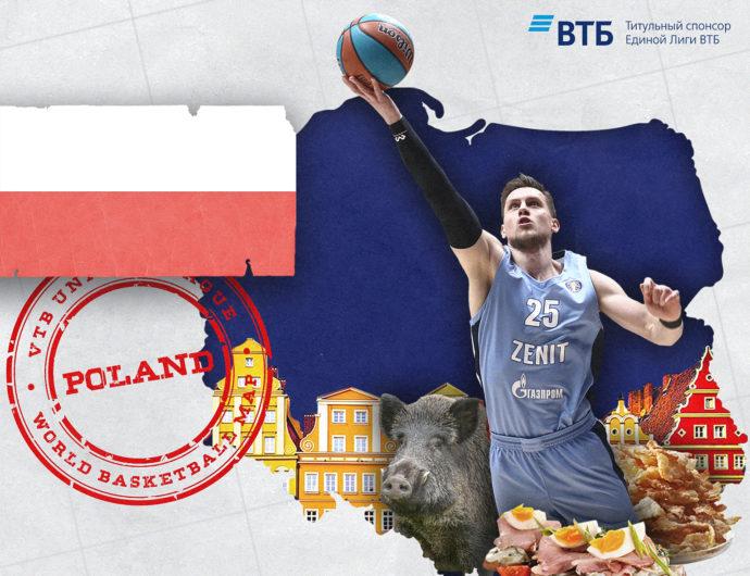 World basketball map: Poland