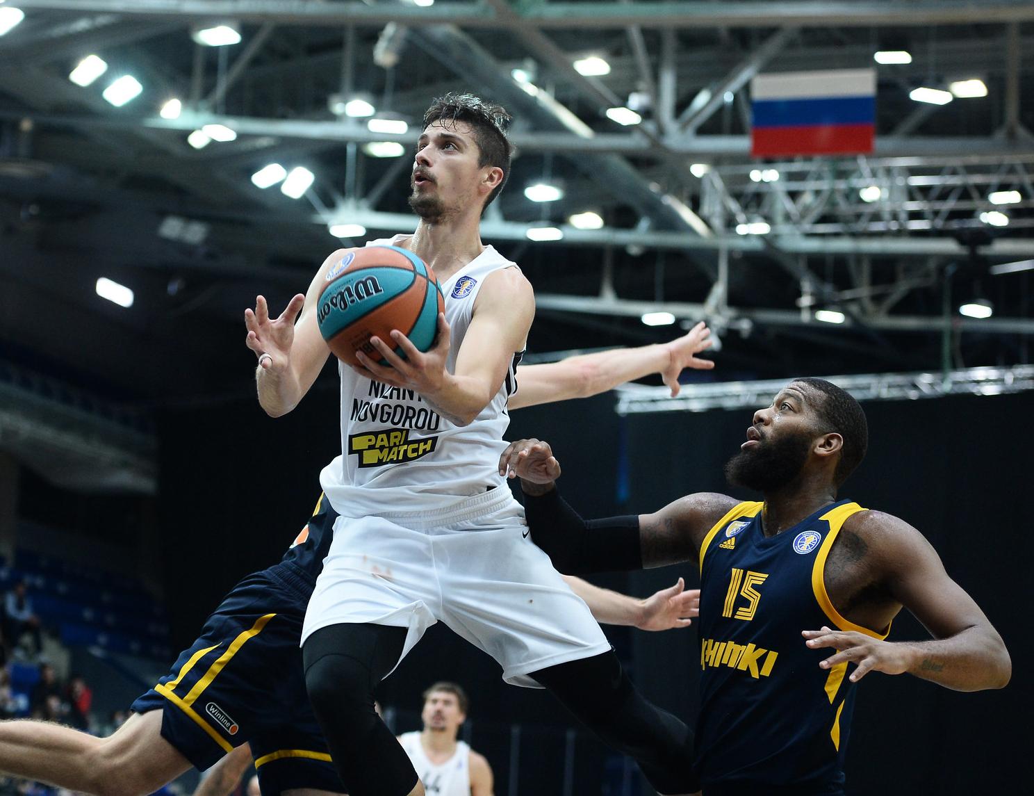 Антон Астапкович — новый герой «Нижнего». Он забил «Химкам» 34 очка