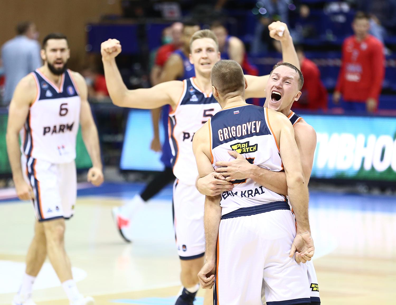«ПАРМА» отыгралась с «-22» в Москве и впервые в истории выиграла у ЦСКА