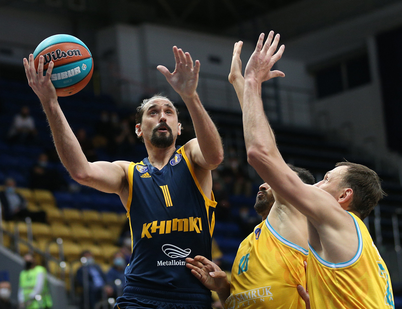 Alexey Shved became League's all-time assist leader