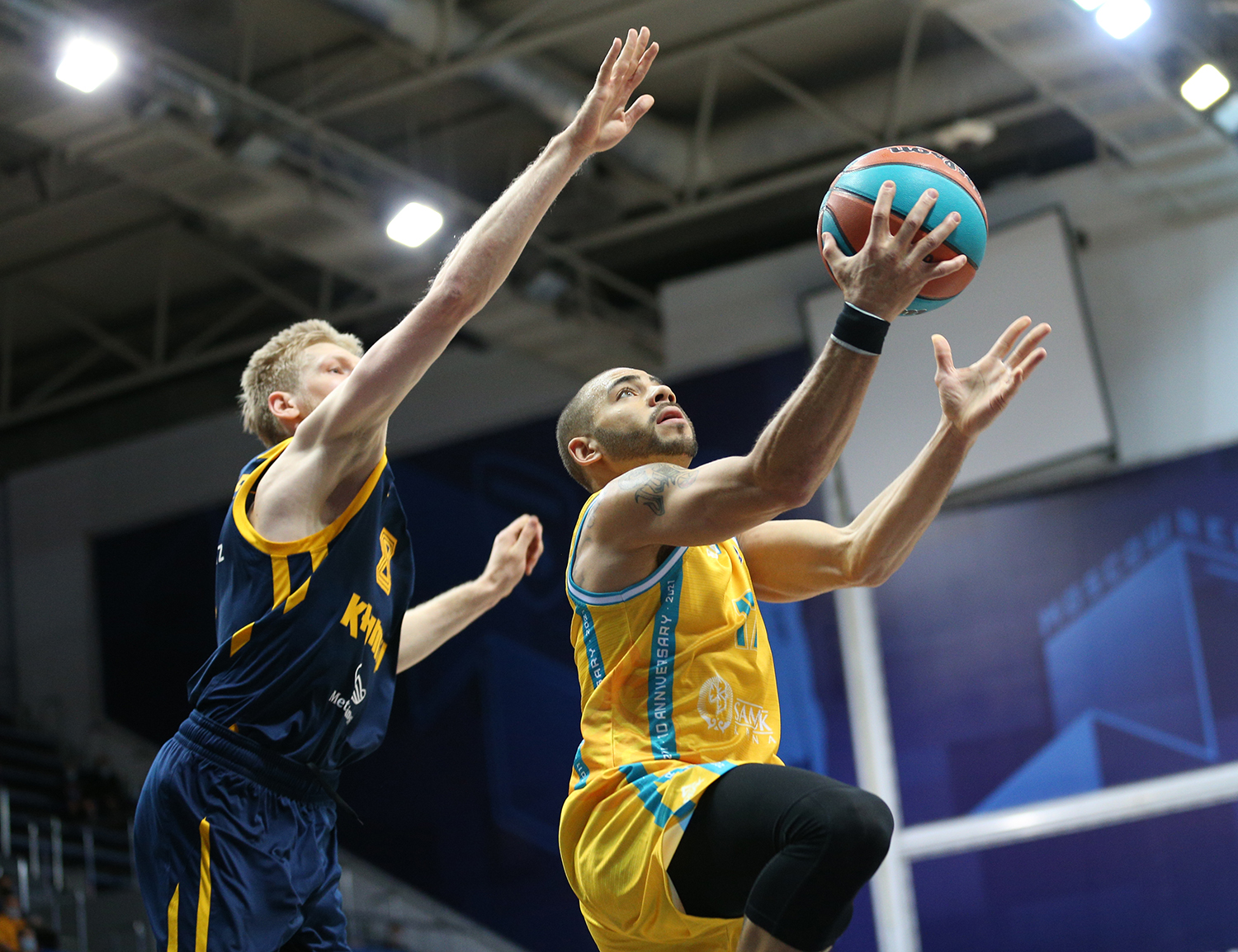 Astana take historic win in Khimki and spoil Shved debut