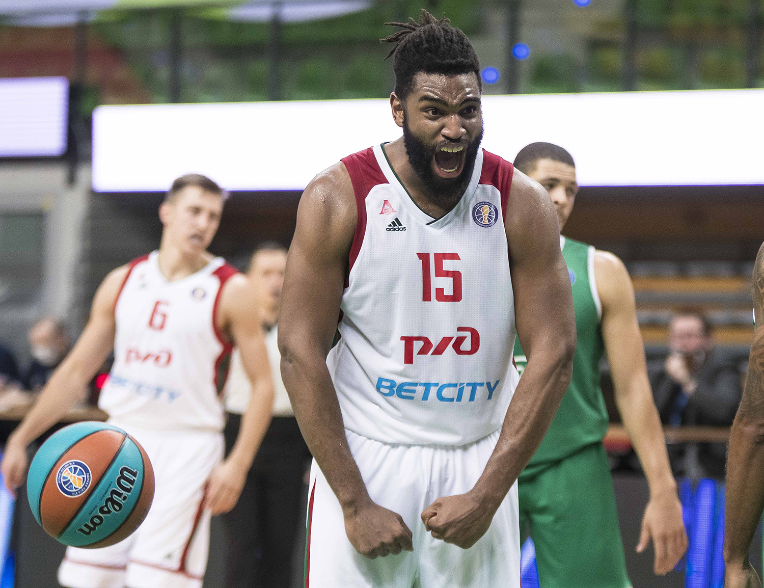 Averaging double-double. Loko's Alan Williams hacking the stats