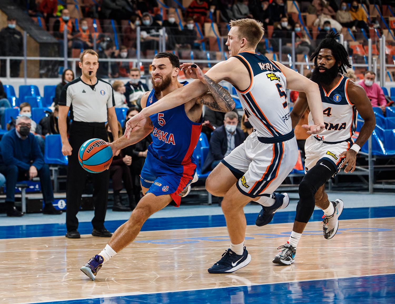 CSKA take revenge in Perm
