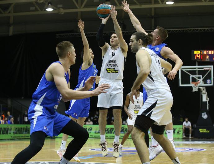 «Нижний Новгород» завершает 2020-й домашней победой над «Калевом»