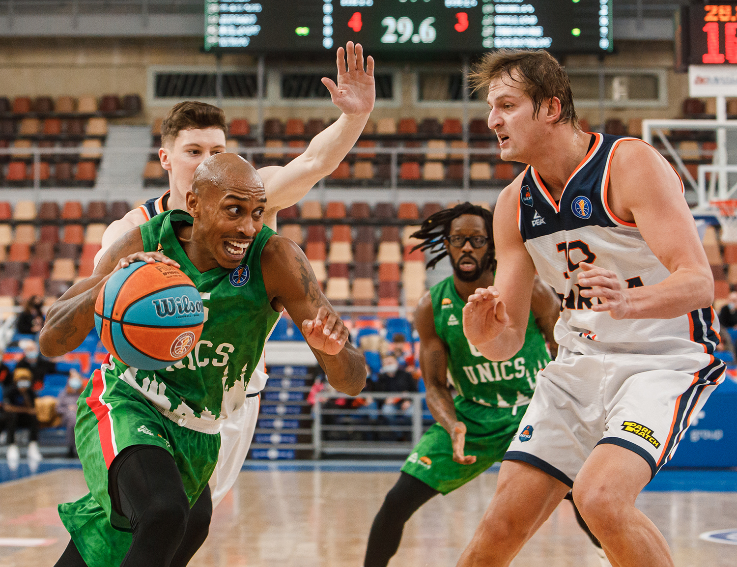 UNICS win in Perm to chase Nizhny in the standings