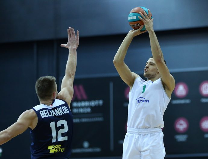Zielona Gora come back from -20 and win in Minsk