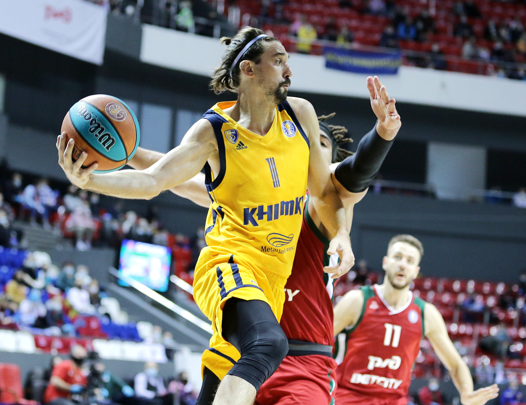 Khimki break Loko home winning streak