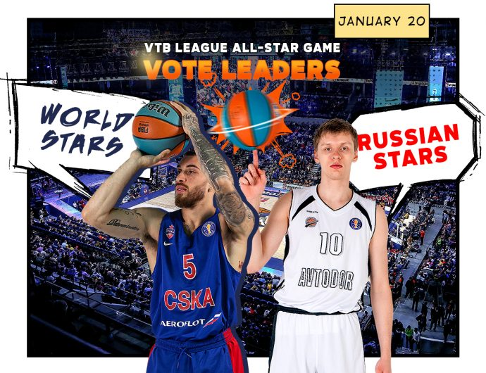 The fans choose. Nikita Mikhailovskii and Mike James lead the All-Star voting