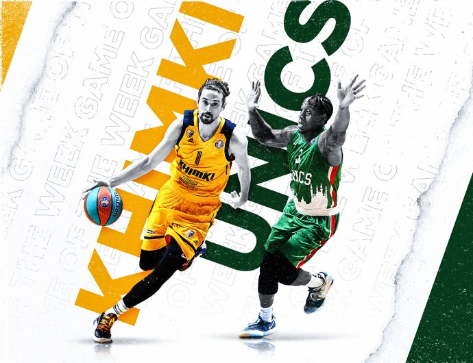 Game of the week. Khimki vs UNICS