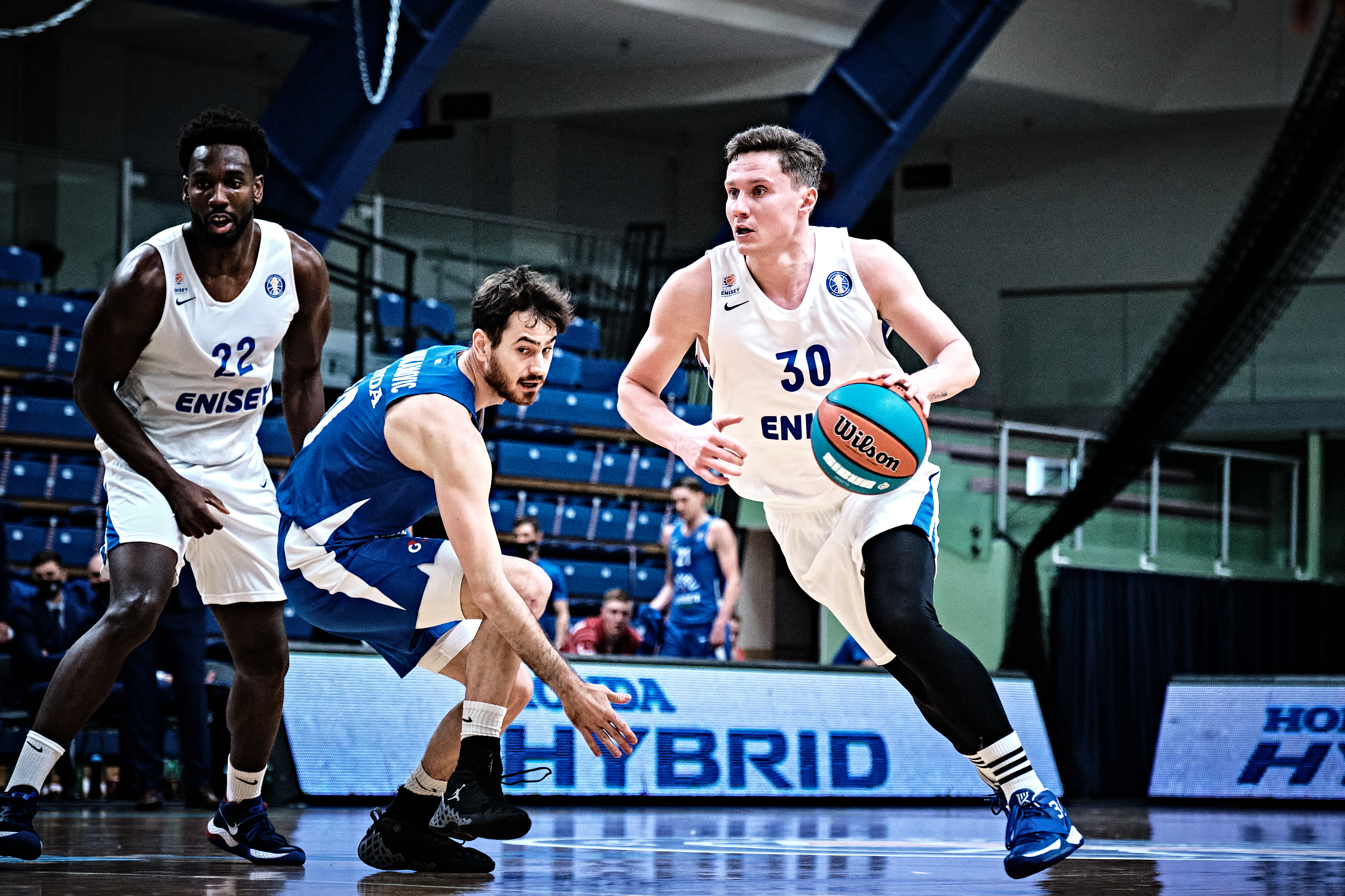 Enisey win in Tallinn and outpace Kalev in standings