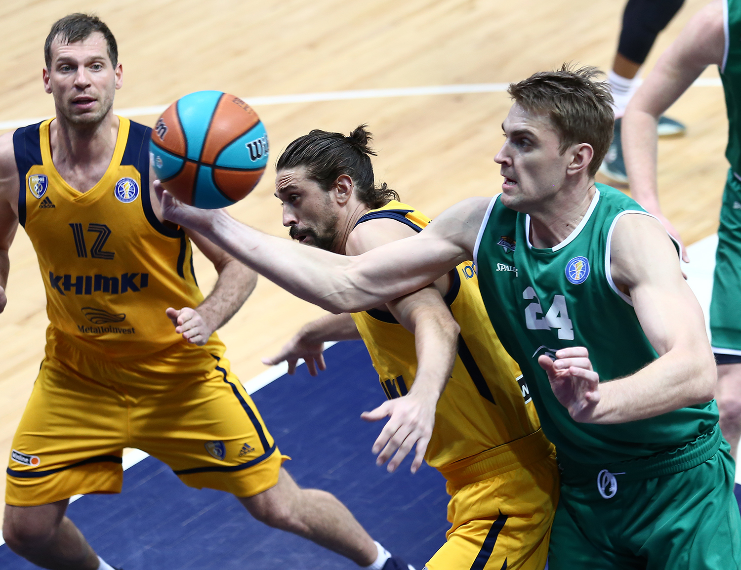 Zielona Gora outclass Khimki and catch Loko and CSKA in wins number