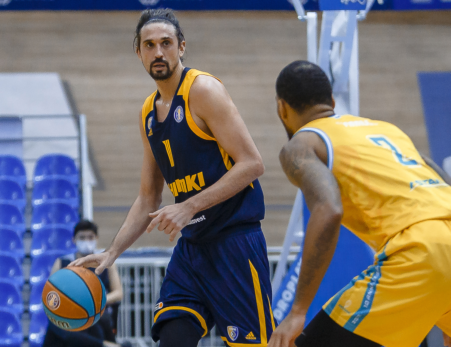 Khimki allow 0-21 run but win in Nur-Sultan