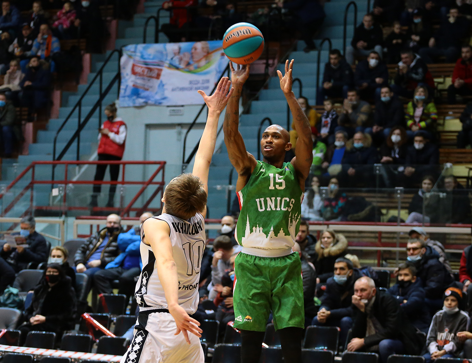 UNICS win in Volga Derby and take 2nd spot