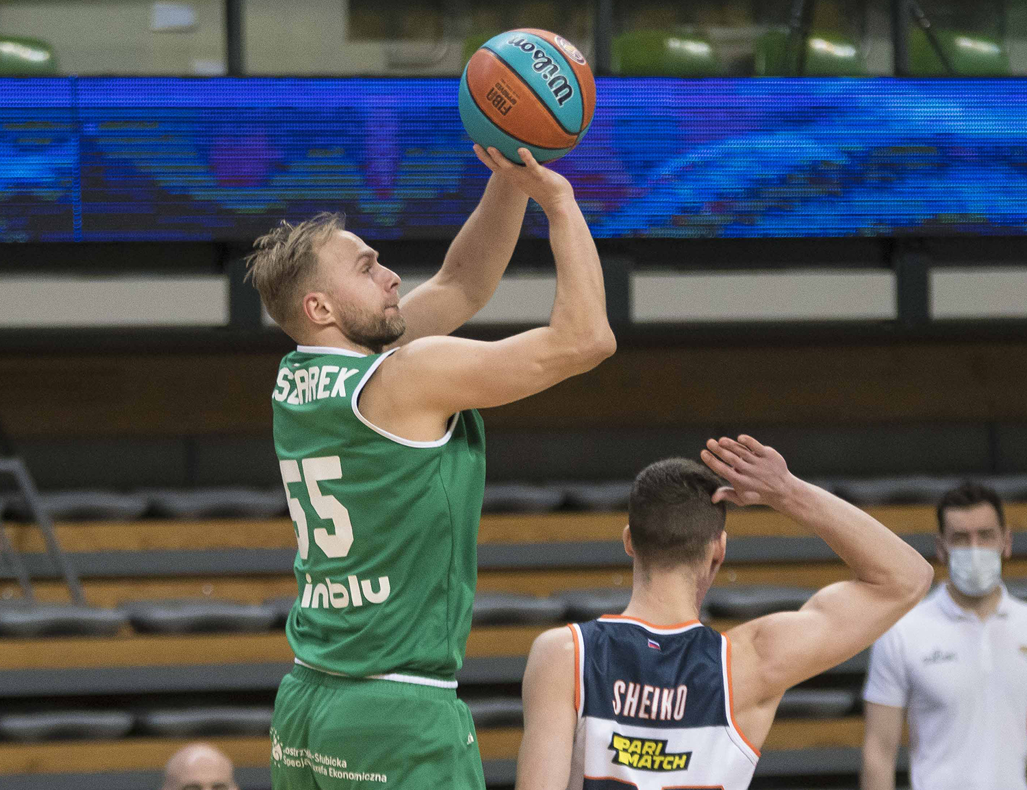 Zielona Gora come back from -15 and beat PARMA