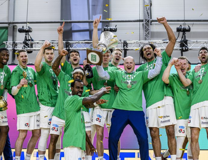 Kalev become Estonian-Latvian League's champion