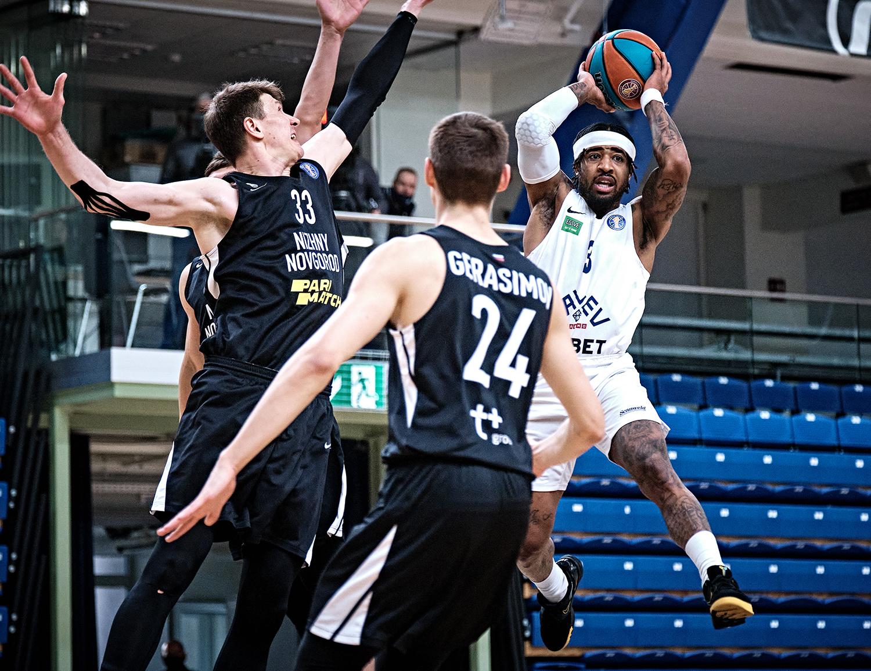 Kalev overcome 10-point gap against Nizhny