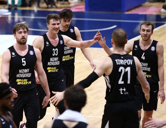 Nizhny Novgorod extend winning streak in Khimki