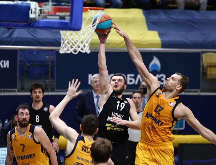 Khimki vs Nizhny Novgorod Highlights