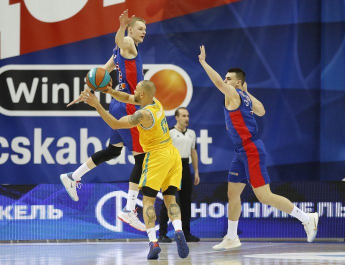 CSKA vs Astana Highlights