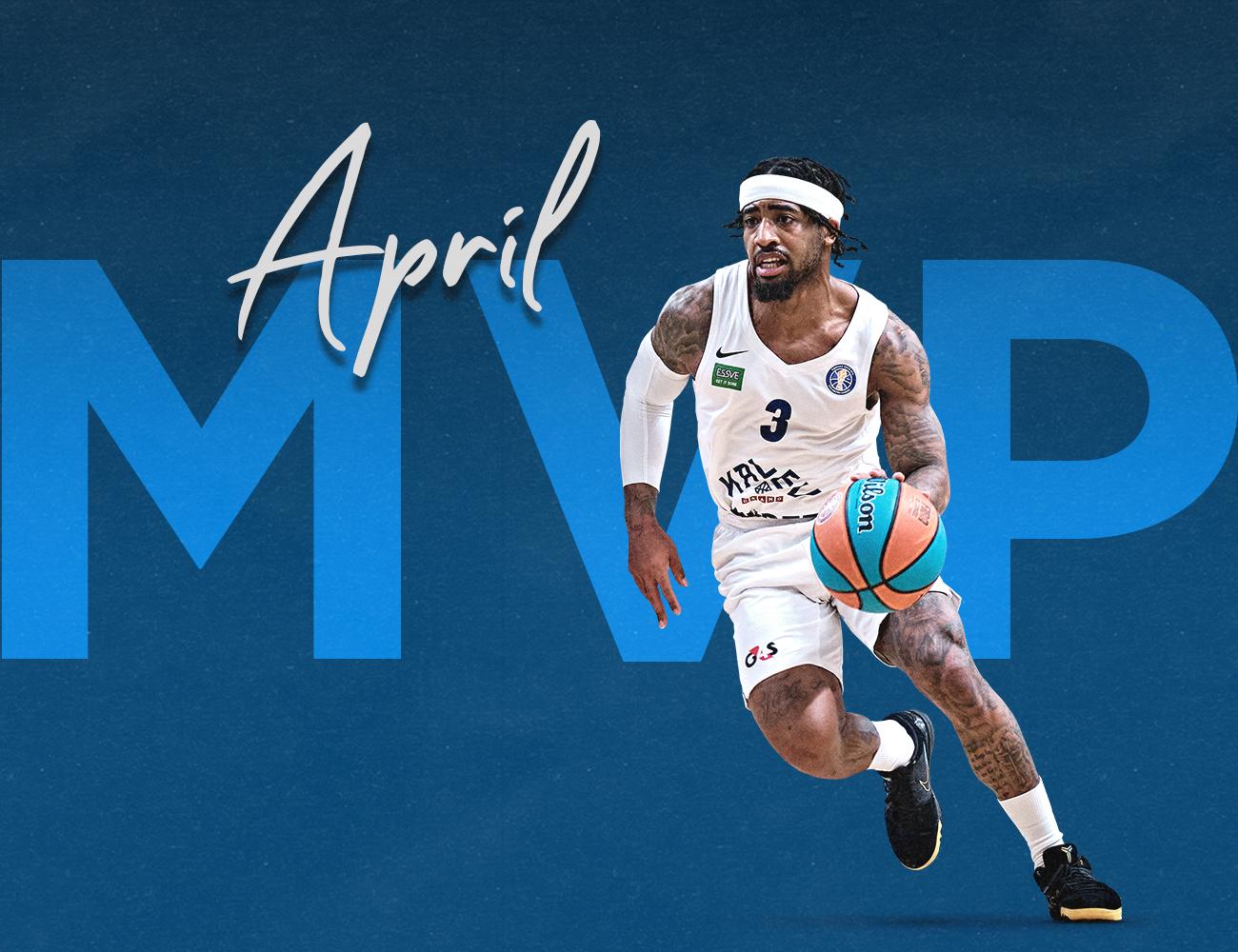 Marcus Keene named April MVP