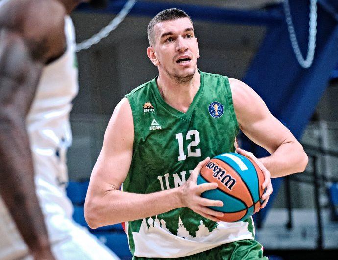 "Artem Klimenko: ""Parachute jump if I win the VTB League? No, it's too scary."""