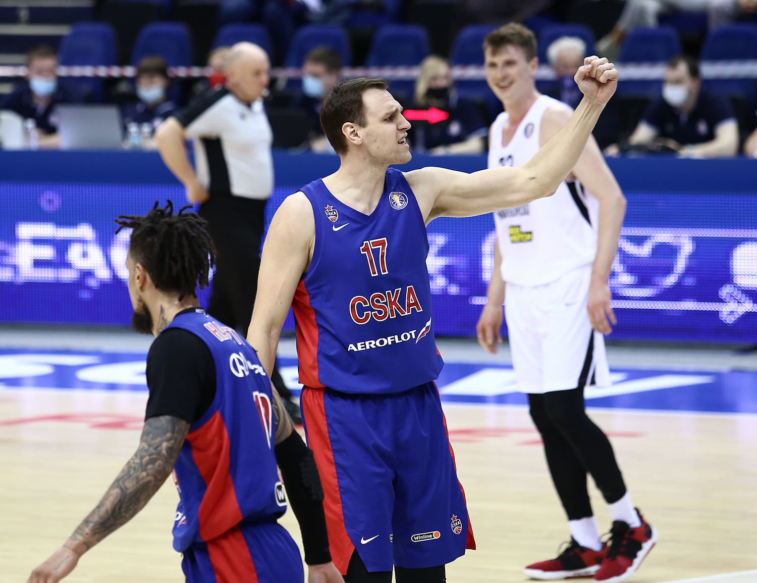 Thanks to defense CSKA start play-offs with the victory over Nizhny