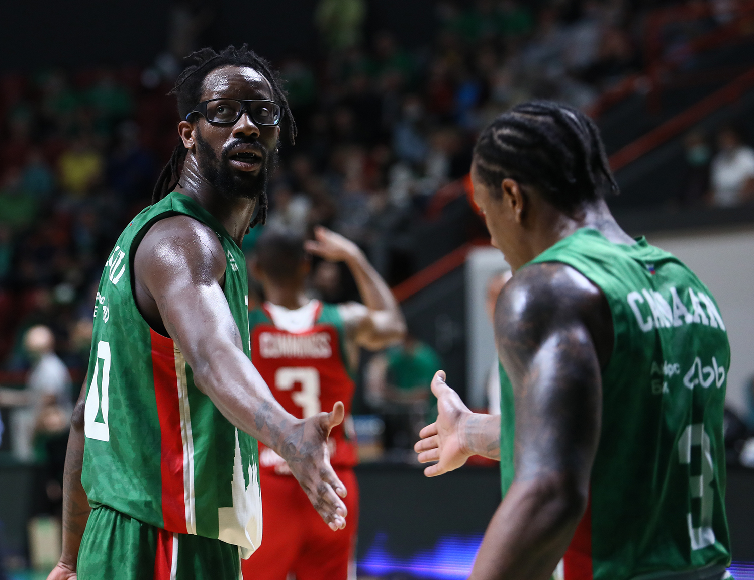 UNICS are the first team to make finals!