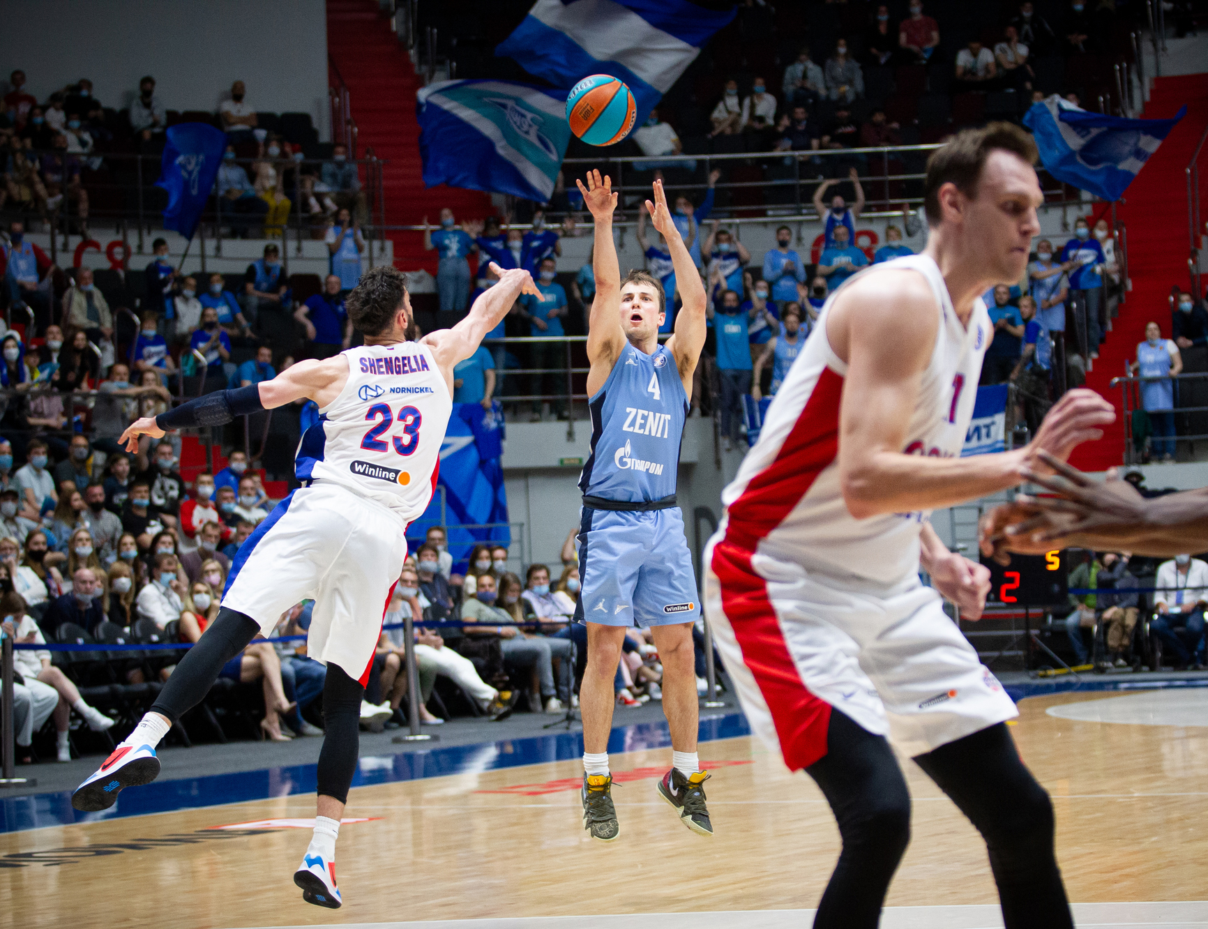 Zenit beat CSKA in double OT game and tie the series