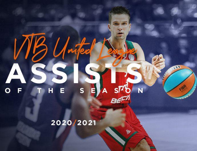 Top-10 assists of 2020/21 season
