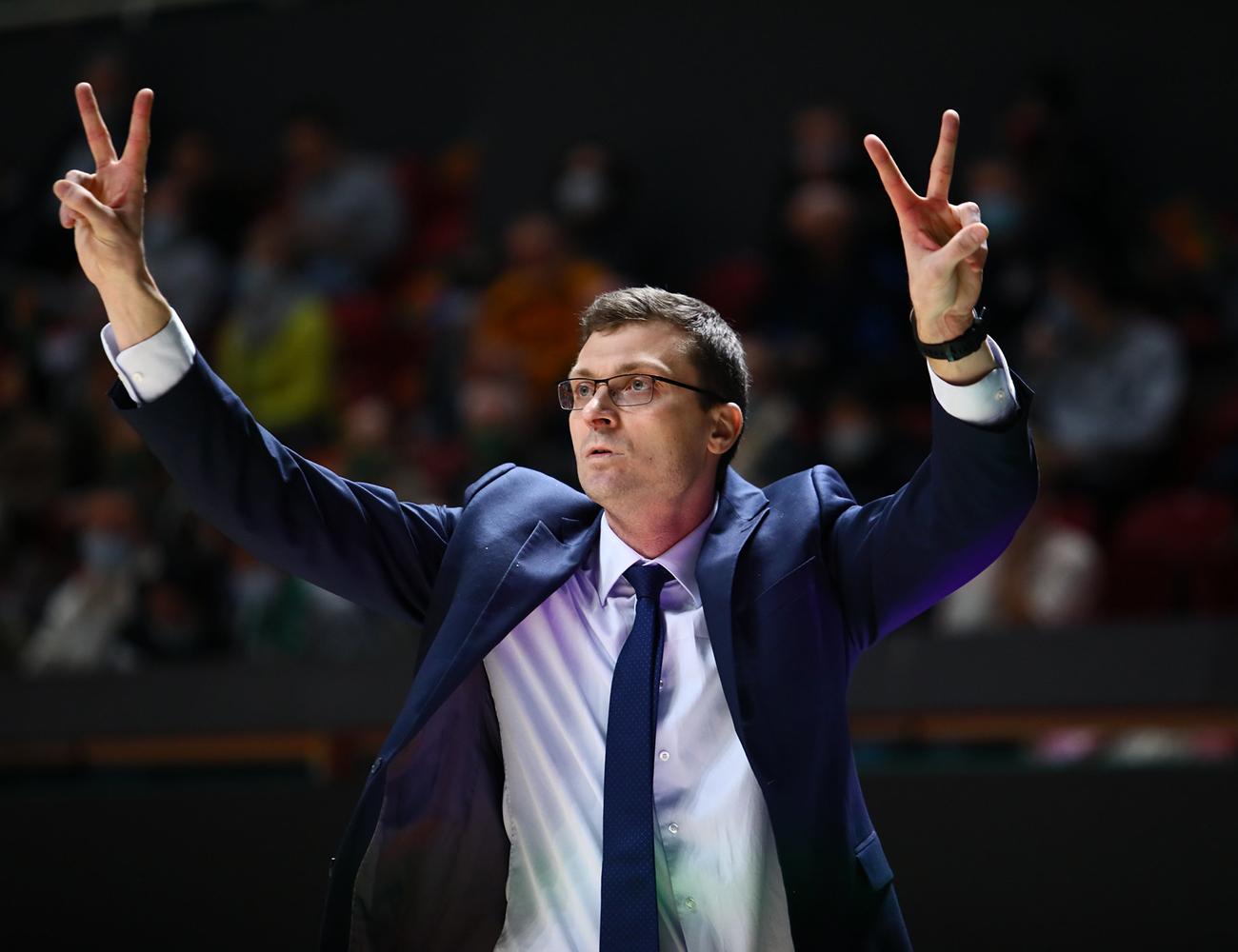 Ростислав Вергун остаётся на посту главного тренера «Цмоки»