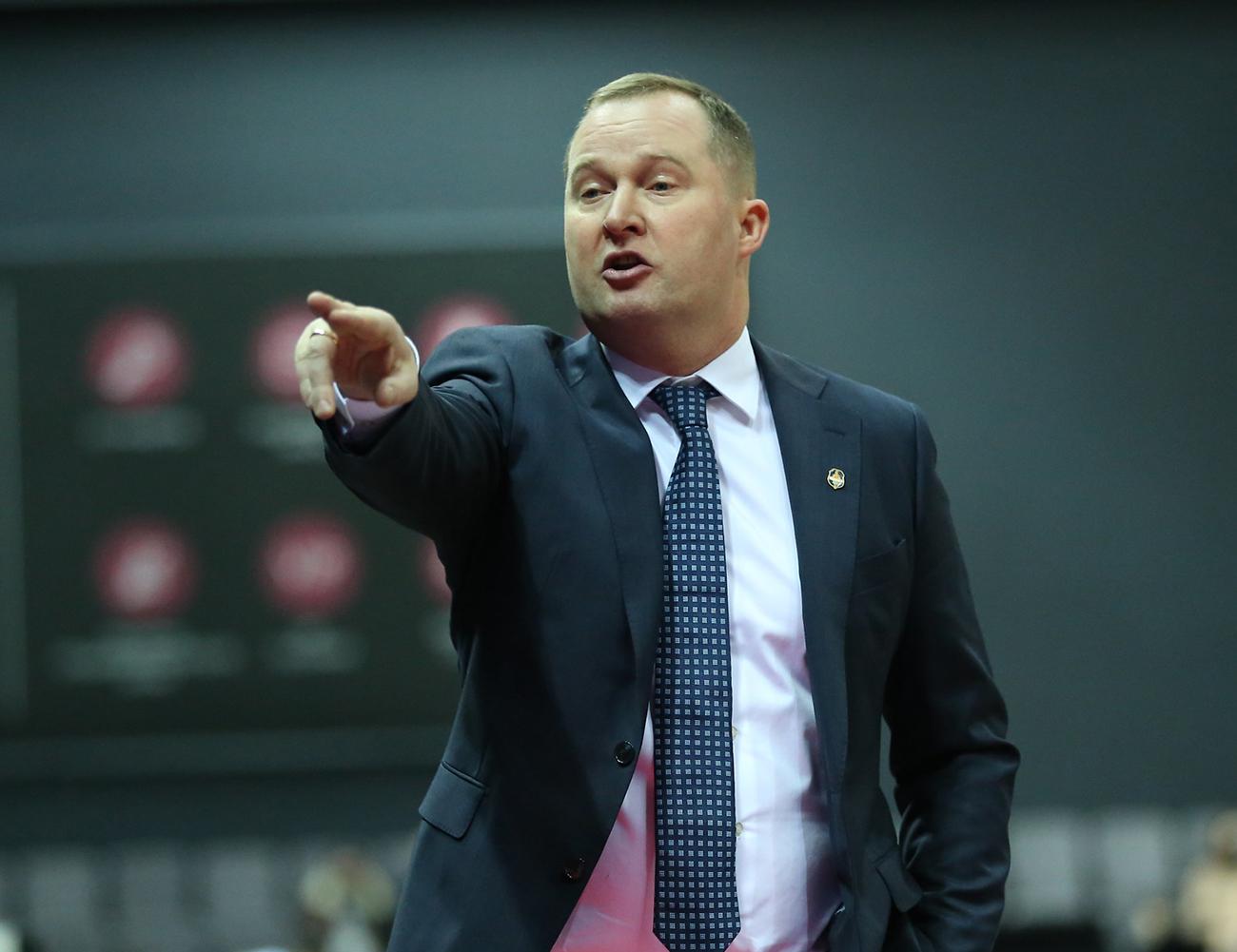 Казис Максвитис возглавил сборную Литвы
