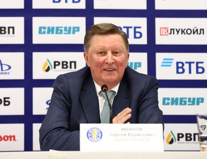 Сергей Иванов: «Единая Лига ВТБ больше 70% всех своих доходов тратит на организацию турнира и на призовые клубам»