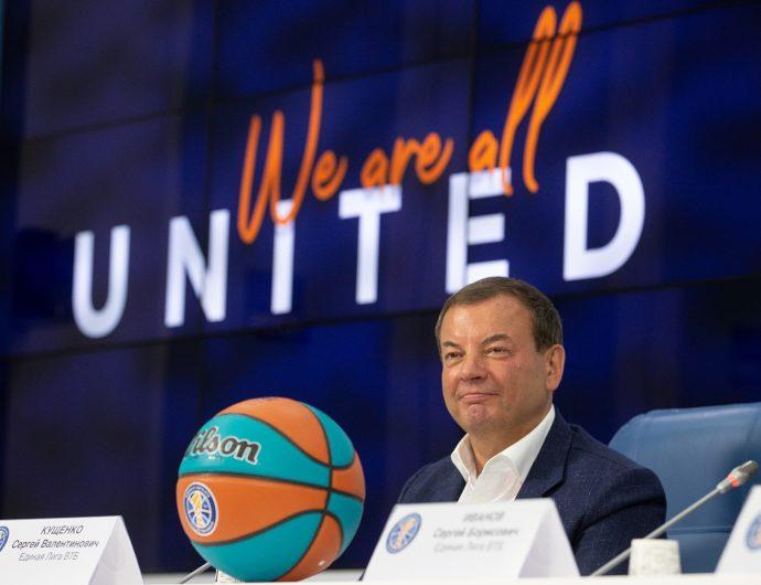 Президент Единой Лиги ВТБ Сергей Кущенко награжден орденом Александра Невского