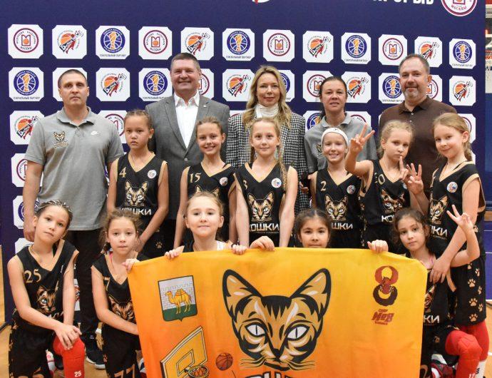 Илона Корстин посетила детский турнир «Быстрый прорыв» в Красной Пахре